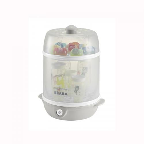 Sterilizator Electric 2 In 1 - Gri - Hrana bebelusi - Sterilizator biberon