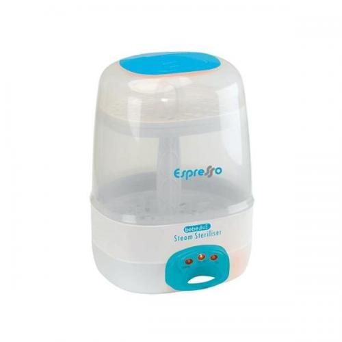 Sterilizator electric cu aburi 6 biberoane Espresso BebeduE BD80101 - Hrana bebelusi - Sterilizator biberon