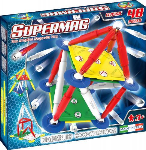 Supermag Classic Primary - Set Constructie 48 Piese - Jucarii copilasi - Jucarii de constructie