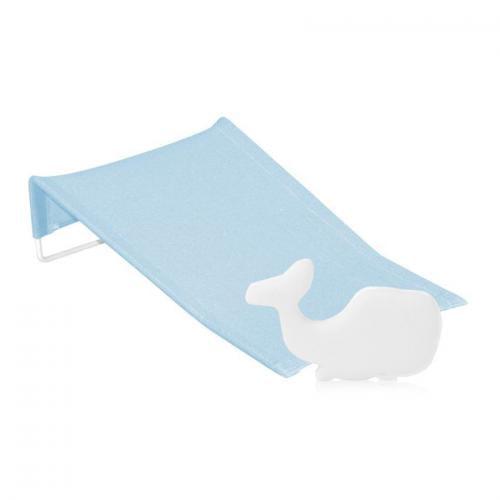 Suport antialunecare pentru imbaiere - burete baie inclus - blue - Igiena ingrijire - Cadita bebe