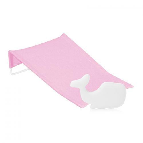 Suport antialunecare pentru imbaiere - burete baie inclus - pink - Igiena ingrijire - Cadita bebe