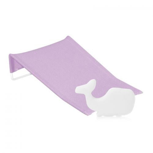 Suport antialunecare pentru imbaiere - burete baie inclus - purple - Igiena ingrijire - Cadita bebe