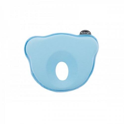 Suport special pentru cap plagioencefalie bebelus BO Jungle sub forma de pernuta bleu - Igiena ingrijire -