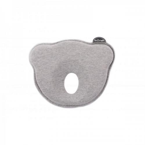 Suport special pentru cap plagioencefalie bebelus BO Jungle sub forma de pernuta gri - Igiena ingrijire -