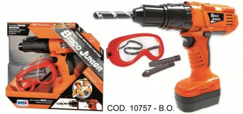 Surubelnita electrica RS Toys cu ochelari de protectie - Jucarii copilasi - Jucarii de constructie