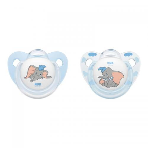 Suzeta Nuk Disney Dumbo Silicon M1 0-6 luni - Hrana bebelusi - Suzeta bebe