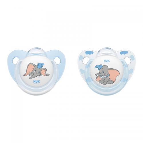 Suzeta Nuk Disney Dumbo Silicon M2 6-18 luni - Hrana bebelusi - Suzeta bebe