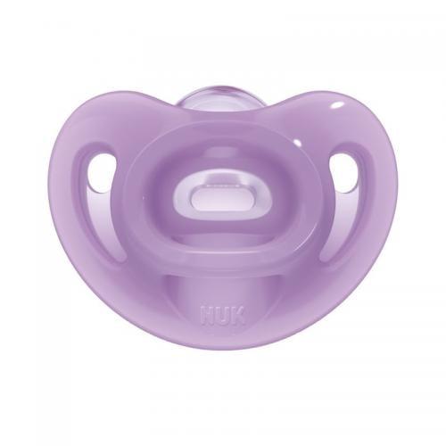 Suzeta Nuk Sensitive Silicon M2 Mov 6-18 luni - Hrana bebelusi - Suzeta bebe