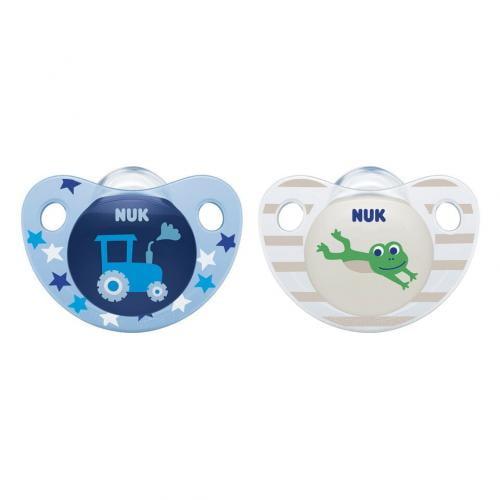 Suzeta Nuk Trendline Adore Silicon M2 Tractor 6-18 luni - Hrana bebelusi - Suzeta bebe