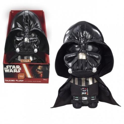 Sw Darth Vader Plush Cu Functii 22 Cm - Jucarii copilasi - Jucarii din plus