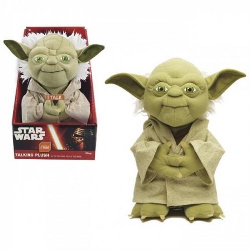 Sw Plush Cu Functii Yoda 22 Cm - Jucarii copilasi - Jucarii din plus