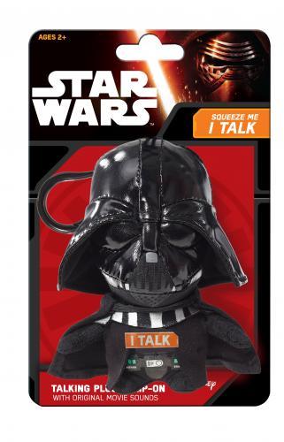 SW VII MINI PLUS CU FUNCTII 12 CM - Darth Vader - Jucarii copilasi - Jucarii din plus
