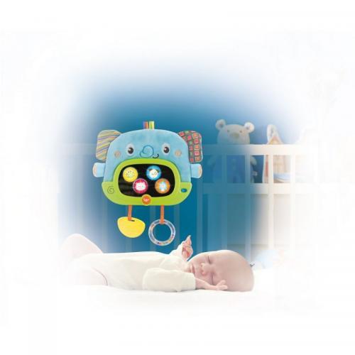 Tableta interactiva bebe Smily Play Day&Night - cu sunete si lumini - Jucarii bebelusi -