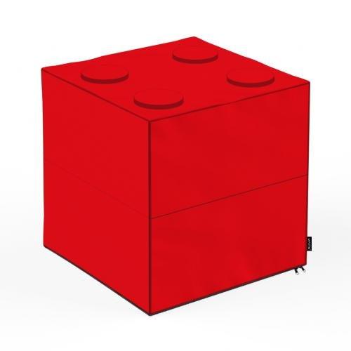 Taburet units - cub - lego - 45 x 45 x 45 cm - Camera bebelusului - Bean bags