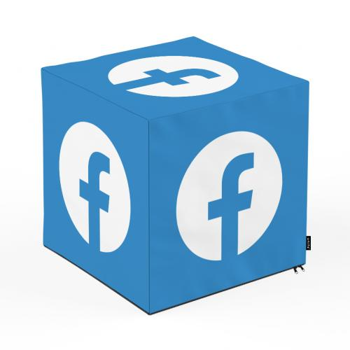 Taburet units - cub - social media 2 - 45 x 45 x 45 cm - Camera bebelusului - Bean bags