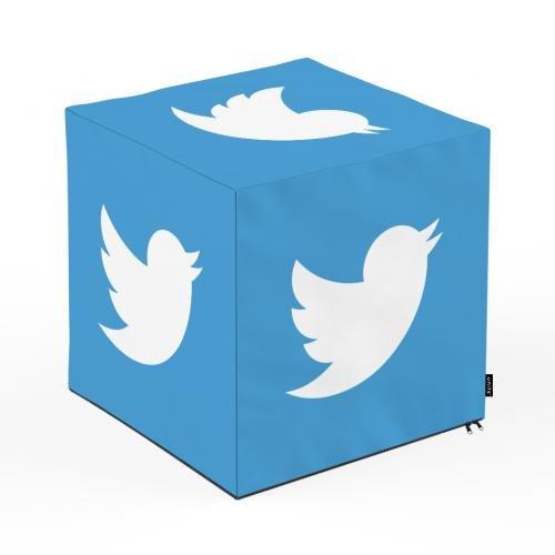 Taburet units - cub - social media 5 - 45 x 45 x 45 cm - Camera bebelusului - Bean bags
