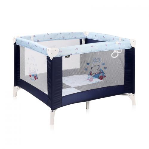 Tarc de joaca play station - blue bear - Camera bebelusului - Patut pliabil