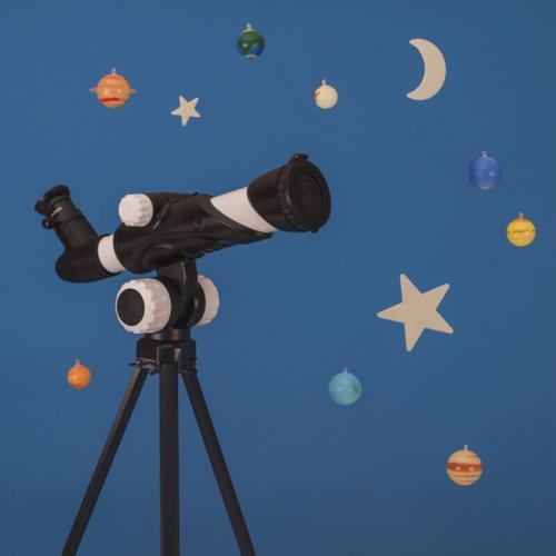 Telescop cu 15 activitati pentru descoperirea stelelor - planetelor si suprafetei lunii - Jucarii copilasi - Jucarii educative bebe