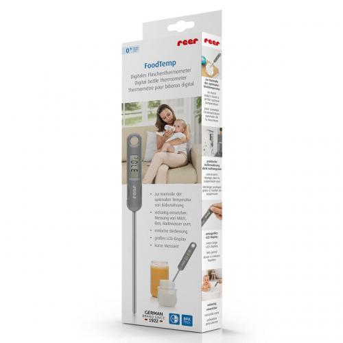 Termometru digital pentru mancarea bebelusilor FoodTemp Reer 21021 - Hrana bebelusi - Biberoane