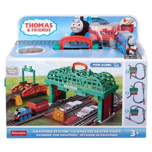 Thomas set de joaca - gara knapford - Jucarii copilasi - Avioane jucarie