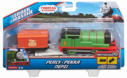 Thomas trackmaster locomotiva percy cu vagon - Jucarii copilasi - Avioane jucarie