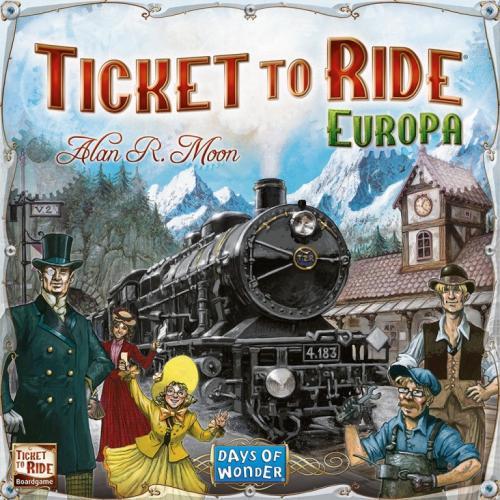 Ticket to Ride Europe - Jocuri pentru copii - Jocuri societate