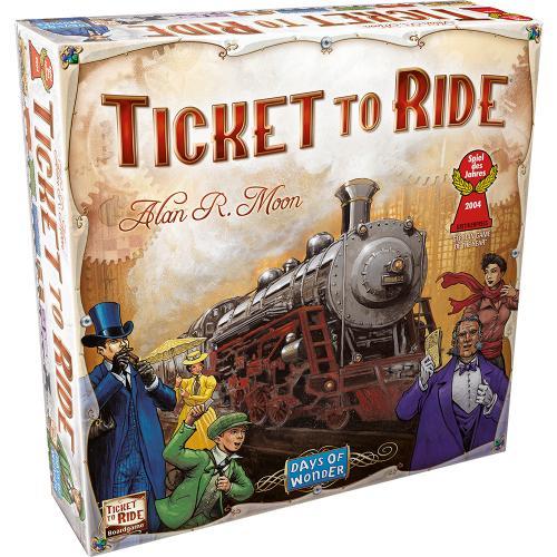Ticket To Ride - Jocuri pentru copii - Jocuri societate