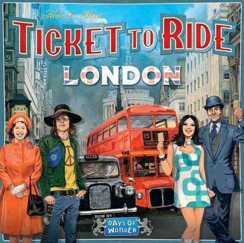 Ticket To Ride Londra - Jocuri pentru copii - Jocuri societate