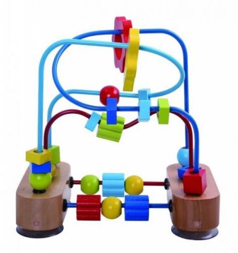 Tooky Toy Labirint cu margele - Jucarii Montessori -