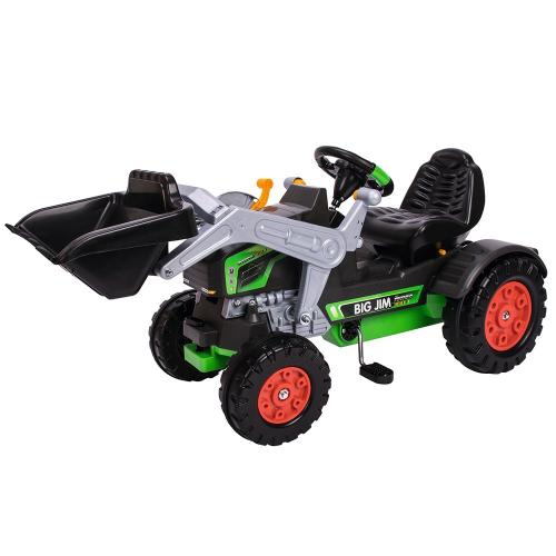 Tractor cu pedale Big Jim Turbo - Jucarii exterior -