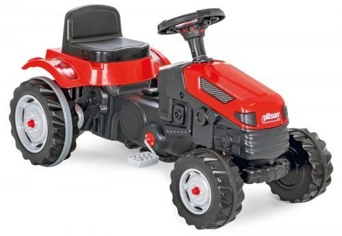 Tractor cu pedale pilsan active rosu - Plimbare bebe - Vehicule cu pedale