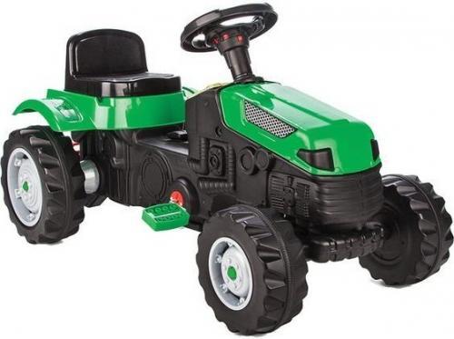 Tractor cu pedale pilsan active verde - Plimbare bebe - Vehicule cu pedale