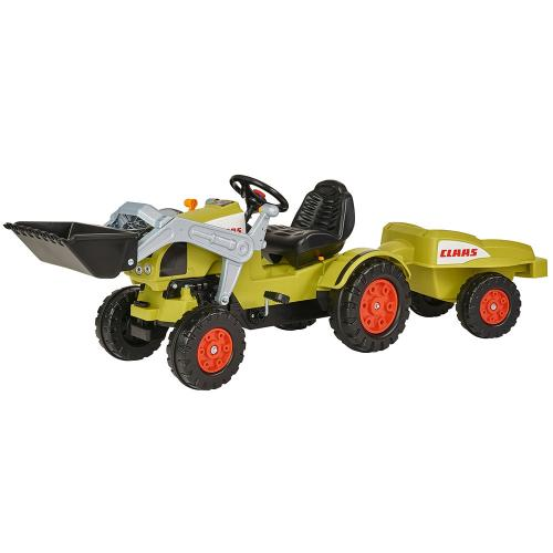 Tractor cu pedale si remorca Big Claas Celtis Loader - Jucarii exterior -