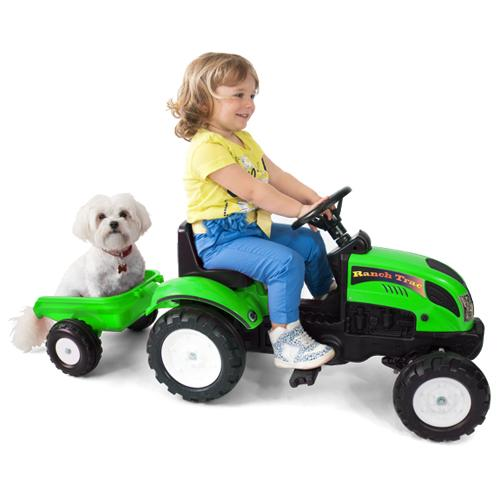 Tractor cu Remorca Garden Master Green - Jucarii exterior -