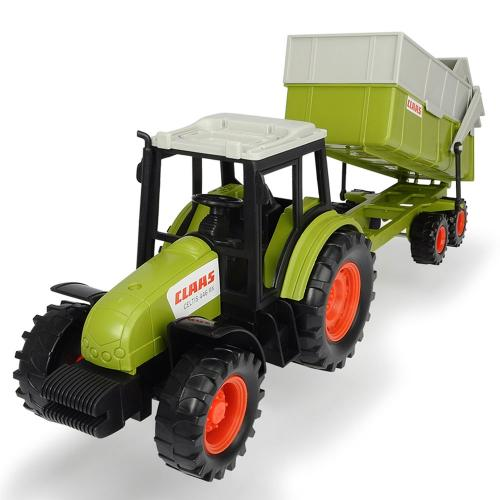 Tractor Dickie Toys Class Celtis 446 RX cu remorca - Jucarii copilasi - Avioane jucarie