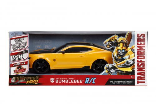 Transformers chevy camaro radiocomandat bumblebee scara 1 la 16 - Jucarii copilasi - Avioane jucarie