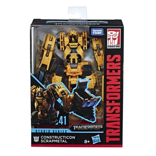 Transformers robot deluxe constructicon scrapmetal - Jucarii copilasi - Figurine pop