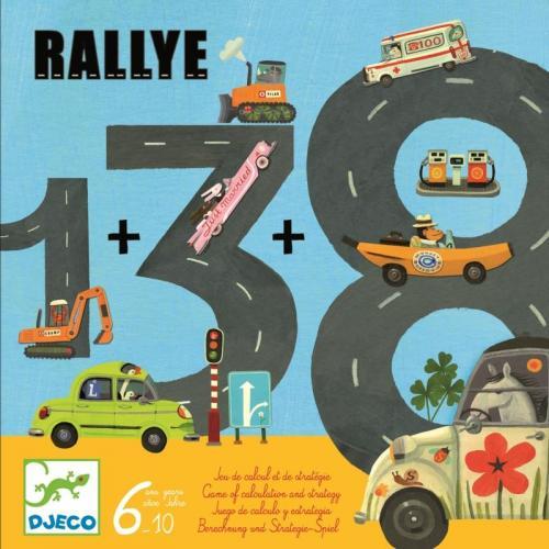 Trasee si kilometri rallye djeco - Jocuri pentru copii - Jocuri societate