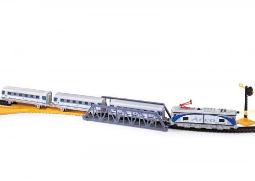 Trenulet Electric Arco Pequetren - Jucarii copilasi - Avioane jucarie