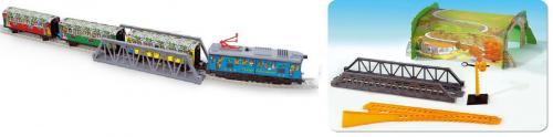 Trenulet Electric Christmas 500 Pequetren - Jucarii copilasi - Avioane jucarie