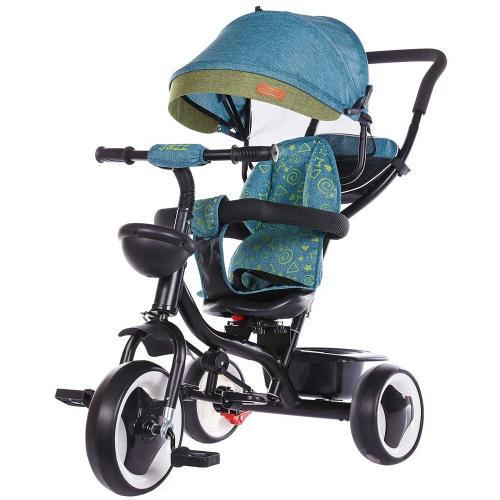 Tricicleta Chipolino Jazz ocean - Plimbare bebe - Triciclete copii