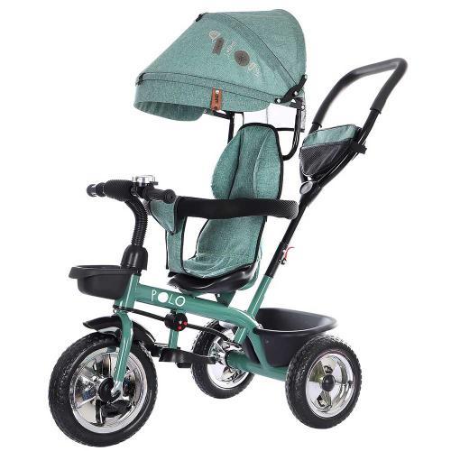 Tricicleta Chipolino Polo mint - Plimbare bebe - Triciclete copii