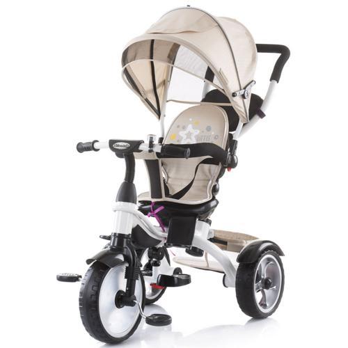 Tricicleta Chipolino Rapido caramel - Plimbare bebe - Triciclete copii