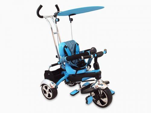 Tricicleta Copii Baby Mix Gr01 Blue - Plimbare bebe - Triciclete copii