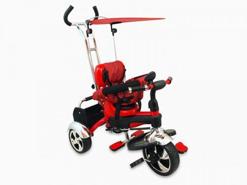 Tricicleta Copii Baby Mix Gr01 Red - Plimbare bebe - Triciclete copii