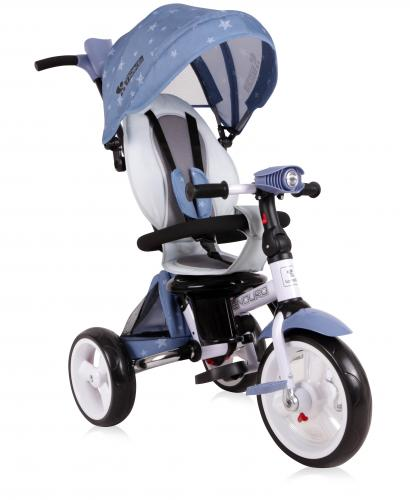 Tricicleta enduro - grey stars - Plimbare bebe - Triciclete copii