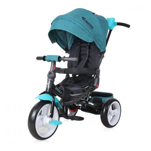 Tricicleta jaguar eva wheels - green - Plimbare bebe - Triciclete copii