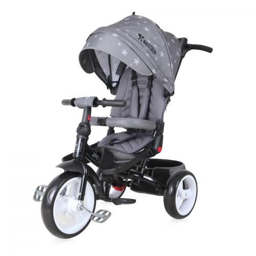 Tricicleta jaguar eva wheels - grey stars - Plimbare bebe - Triciclete copii