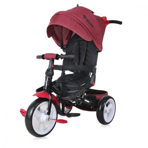 Tricicleta jaguar eva wheels - red & black luxe - Plimbare bebe - Triciclete copii