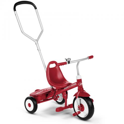 Tricicleta multifunctionala radio flyer steer and stroll - 2-5 ani - Rechizite - Ghiozdane si trolere